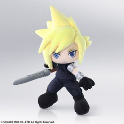 FINAL FANTASY CLOUD STRIFE ACTION FIGURE PLUSHED