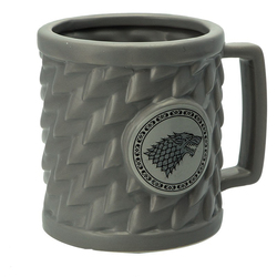 GAME OF THRONES STARK RELIEF MUG