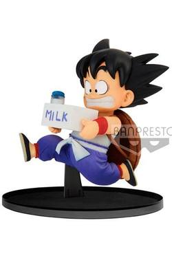 BANPRESTO FIGURE DRAGON BALL GOKU MILK 11 CM