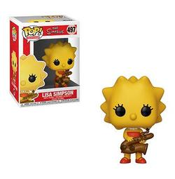 FIGURA POP THE SIMPSONS: LISA WITH SAXOPHONE