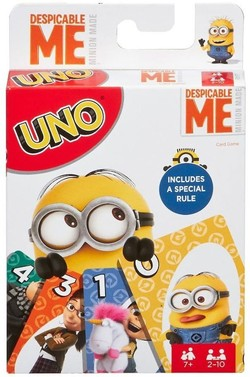 UNO THE CARD GAME MINIONS