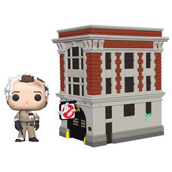 POP FIGURE GHOSTBUSTERS: PETER AND HOUSE