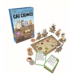THINK FUN: CAT CRIMES
