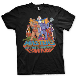 CAMISETA MASTERS OF THE UNIVERSE ORANGE XXL