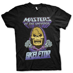 MASTER OF THE UNIVERSE T-SHIRT SKELETOR L