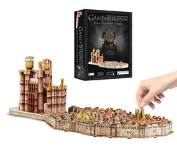 GAME OF THRONES 3D PUZZLE KINGS LANDING 260 PCS 15 CM