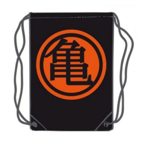 DRAGON BALL KAME BLACK SACK 45 X 35