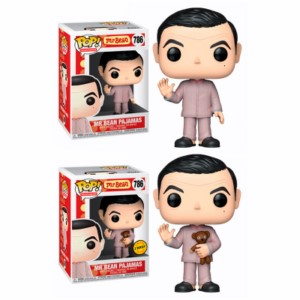 POP FIGURE MR BEAN PIJAMA DISPLAY (5+1 CHASE)