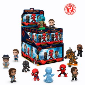 SPIDERMAN FAR FROM HOME MYSTERY MINIS DISPLAY (12)