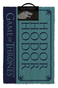 GAME OF THRONES DOORMAT HODOR 40X60 CM