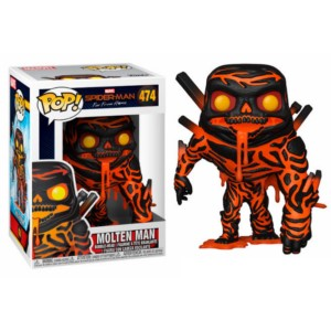 POP FIGURE SPIDERMAN FAR FROM HOME: MOLTEN MAN