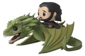 POP FIGURE GAME OF THRONES JON & RHAEGAL