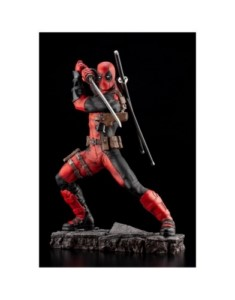 MARVEL FINE ART DEADPOOL FIGURE 28 CM