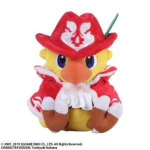 FINAL FANTASY CHOCOBO RED MAGE PLUSH 17 CM
