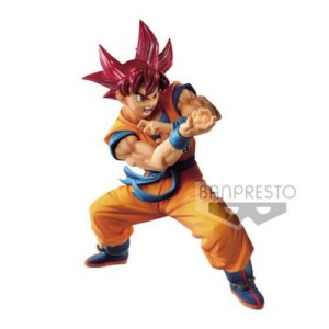 BANPRESTO FIGURE DRAGON BALL GOKU SUPER BLOOD 17CM