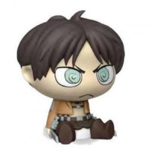 ATTACK ON TITAN EREN CHIBI PVC MONEYBANK 17 CM