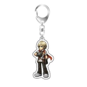 FINAL FANTASY KEYCHAIN ACE