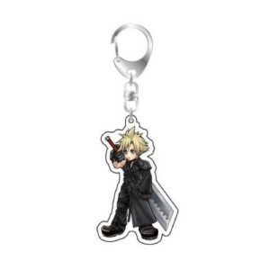 FINAL FANTASY KEYCHAIN CLOUD