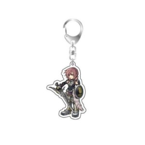 FINAL FANTASY KEYCHAIN LIGHTNING