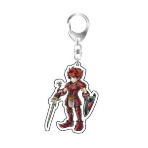 FINAL FANTASY KEYCHAIN WARRIOR OF LIGHT