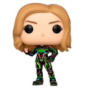 POP FIGURE MARVEL: CAPTAIN MARVEL NEON SUIT