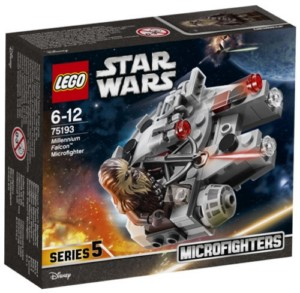 LEGO STAR WARS MICROFIGHTER MILLENIUM FALCON