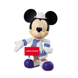 QPOSKET FIGURE DISNEY PLUFFY FUFFY MICKEY 14 CM