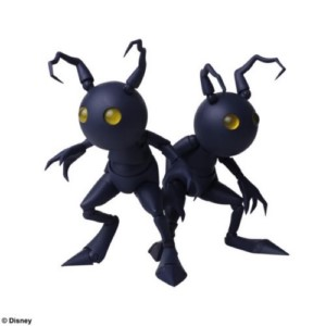 KINGDOM HEARTS FIGURE PACK SHADOWS SET 10 CM