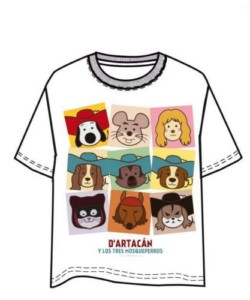 DARTACAN T-SHIRT SQUARES XL