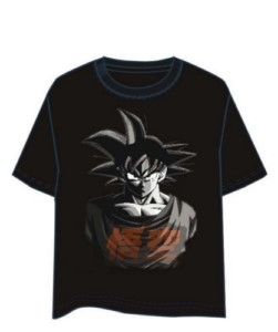 DRAGON BALL B&W GOKU T-SHIRT XL