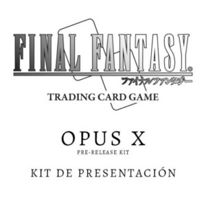 FINAL FANTASY TCG OPUS 10 PRE-RELEASE KIT