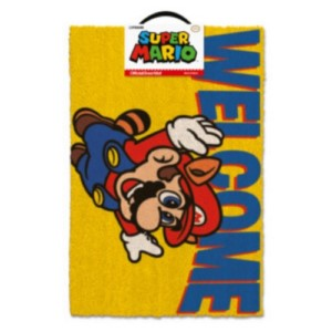 NINTENDO MARIO WELCOME DOORMAT 40x60