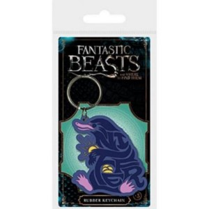 HARRY POTTER NIFFLER RUBBER KEYCHAIN