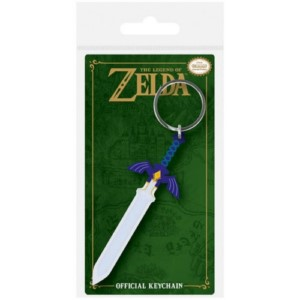 LEGEND OF ZELDA SWORD RUBBER KEYCHAIN