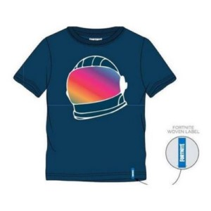 FORTNITE HELMET AZUL L T-SHIRT
