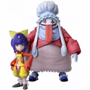 FINAL FANTASY IX EIKO & QUINA FIGURE PACK