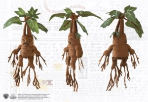 HARRY POTTER MANDRAKE PLUSH WITH SOUND 40 CM