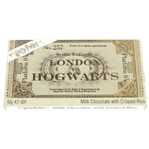 HARRY POTTER CHOCOLATE TICKET TABLET DISPLAY (24)