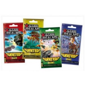STAR REALMS UNITED BOOSTER BOX (SPANISH)