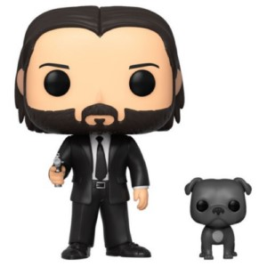 POP FIGURE JOHN WICK: JOHN WITH DOG