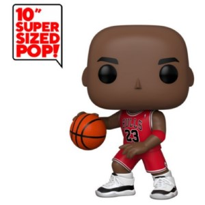 POP FIGURE NBA: MICHAEL JORDAN RED JERSEY