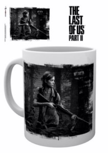 THE LAST OF US 2 B&W MUG