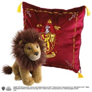 HARRY POTTER CUSHION + GRYFFINDOR PLUSH