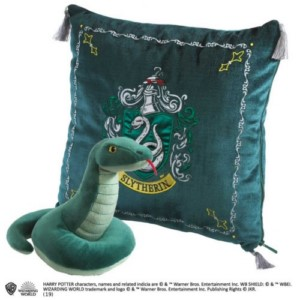 HARRY POTTER CUSHION + SLYTHERIN PLUSH