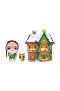 POP FIGURE ICON: SANTA CLAUS HOUSE AND NUTMEG