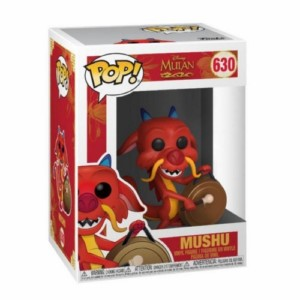POP FIGURE MULAN: MUSHU WITH GONG