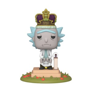 POP FIGURE RICK & MORTY: KING OF SHIT