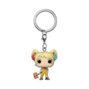 POP KEYCHAIN BIRDS OF PREY HARLEY QUINN BOOBTRAP