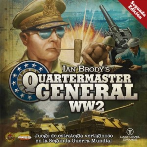 WW2 QUATERMASTER GENERAL DISPLAY BOX (6) (SPANISH)