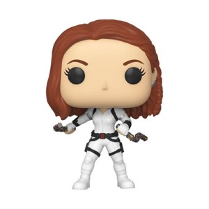 POP FIGURE BLACK WIDOW: BLACK WIDOW WHITE SUIT